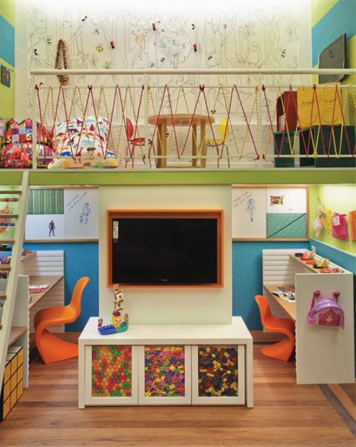 Snowbound? Design Ideas to Keep the Kids Occupied Indoors
