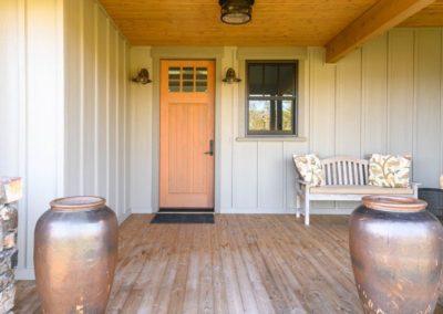 Miller Residence exterior front door