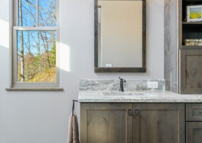 Miller Residence interior bathroom vanity