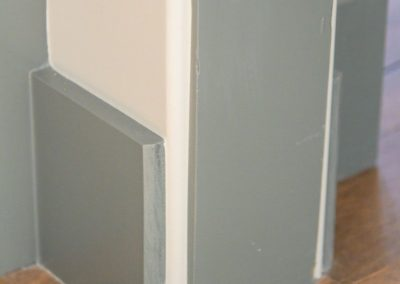 Miller Residence interior floor molding