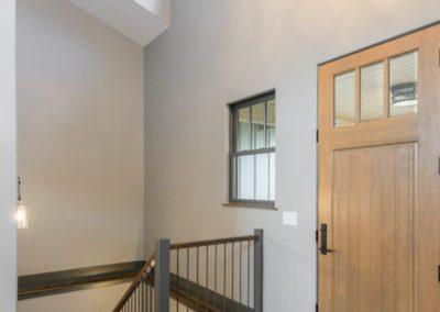 Miller Residence interior front door