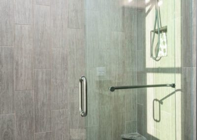 Miller Residence interior master shower