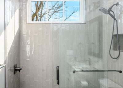 Miller Residence interior shower