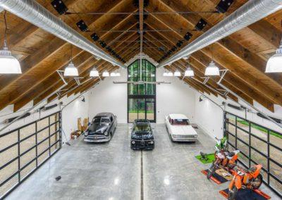 Watkins Barn loft view