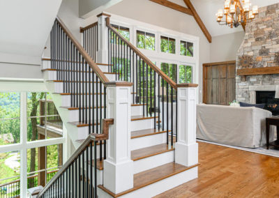 Bailey Living Room Stairs