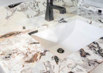 Miller Residence interior bathroom sink