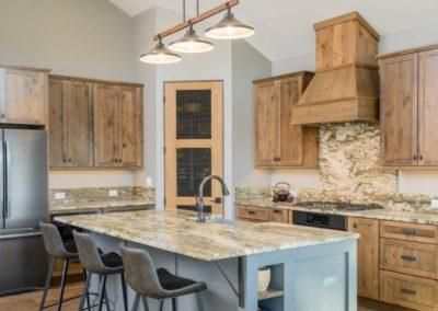 Miller Residence interior full kitchen