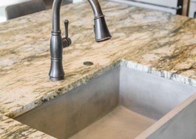 Miller Residence interior kitchen sink