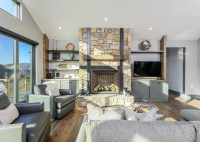 Miller Residence interior living room