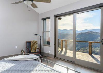Miller Residence interior master bedroom view