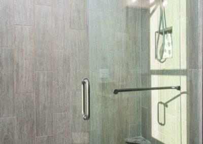 Miller Residence interior master shower
