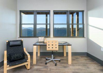 Miller Residence interior office