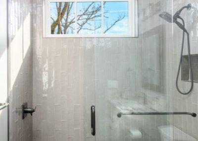Miller Residence interior shower