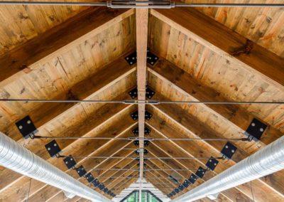 Watkins Barn ceiling