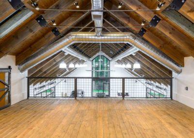 Watkins Barn loft