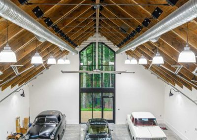 Watkins Barn loft view 2