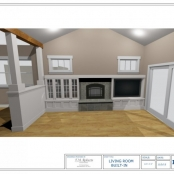 Craftsman Cabinetry Design Drawings